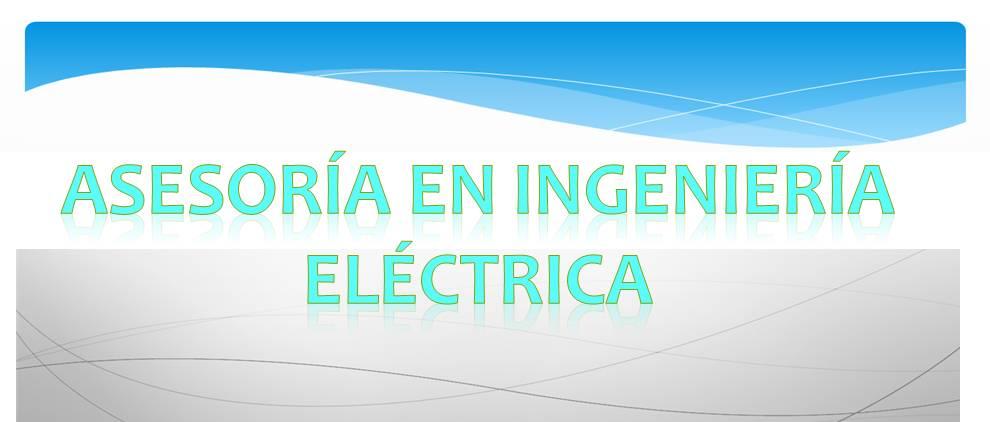AYUDA PARA INGENIEROS ELECTRICISTAS