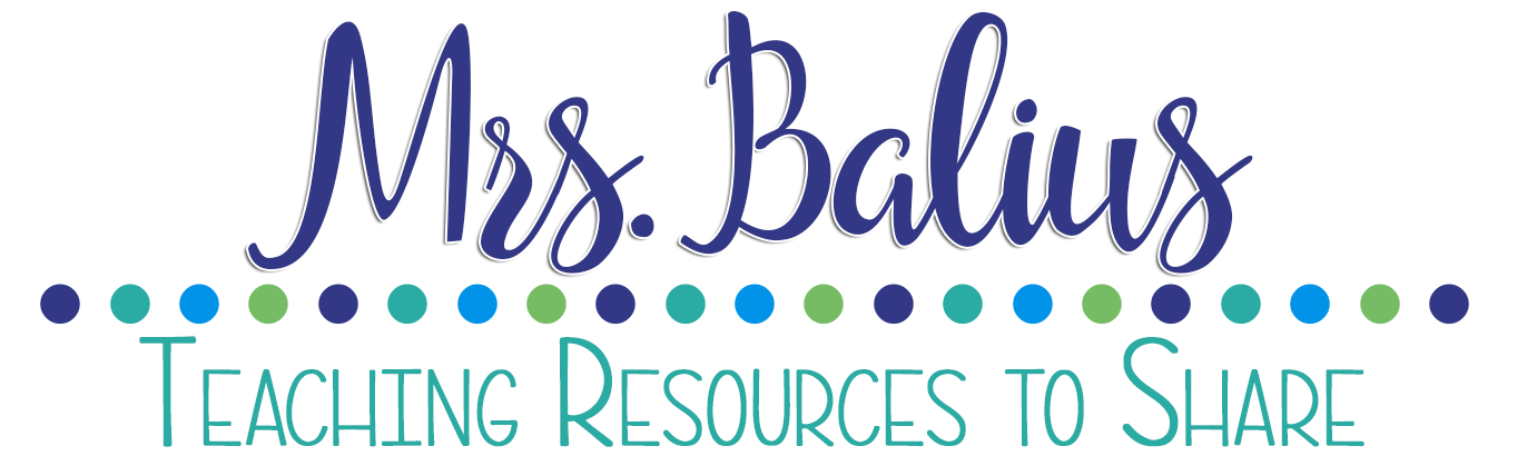 Mrs Balius: Teaching Resources to Share