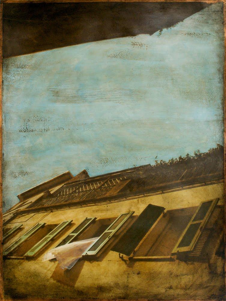 Denise sanna opere d 39 arte su carta for Finestra 50x70