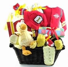 Baby Fireman Basket