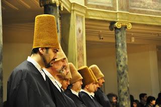 derviches, monestir mevlevi, monasterio mevlevi, Estambul