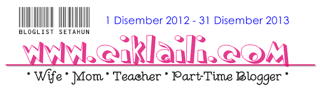 Bloglist Setahun Dari Ciklaili.Com