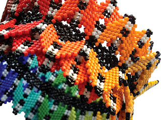 peyote geometric beadwork blog beaders bead artist