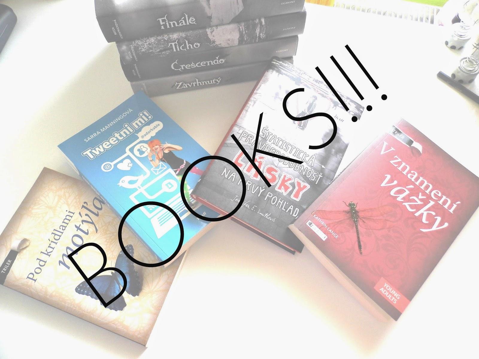 Ktoré knihy som už prečítala?