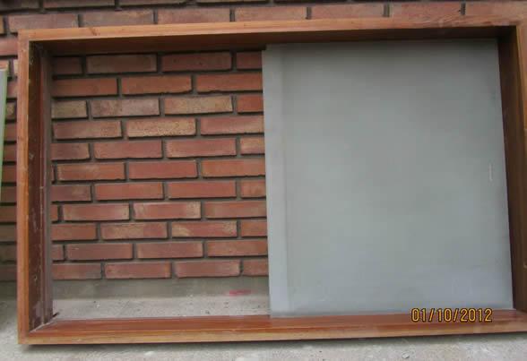 Como construir un marco para una ventana de pvc for Marcos de pvc para ventanas