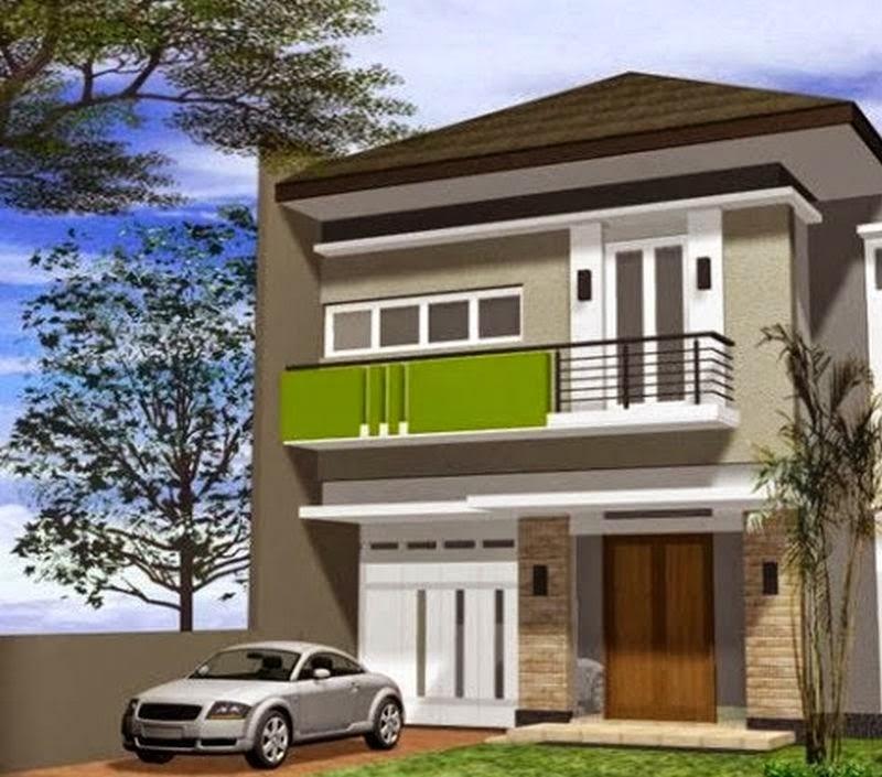 model rumah minimalis perkotaan 3