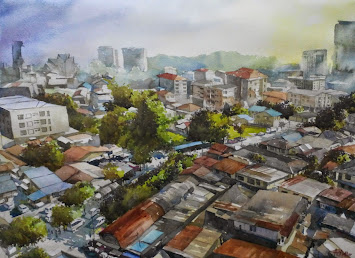 Watercolour: Nasib Si Kg. Baru