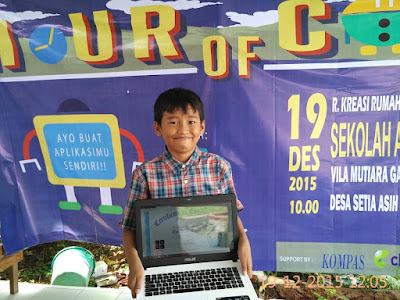 Belajar computational thinking dari Hour Of Code