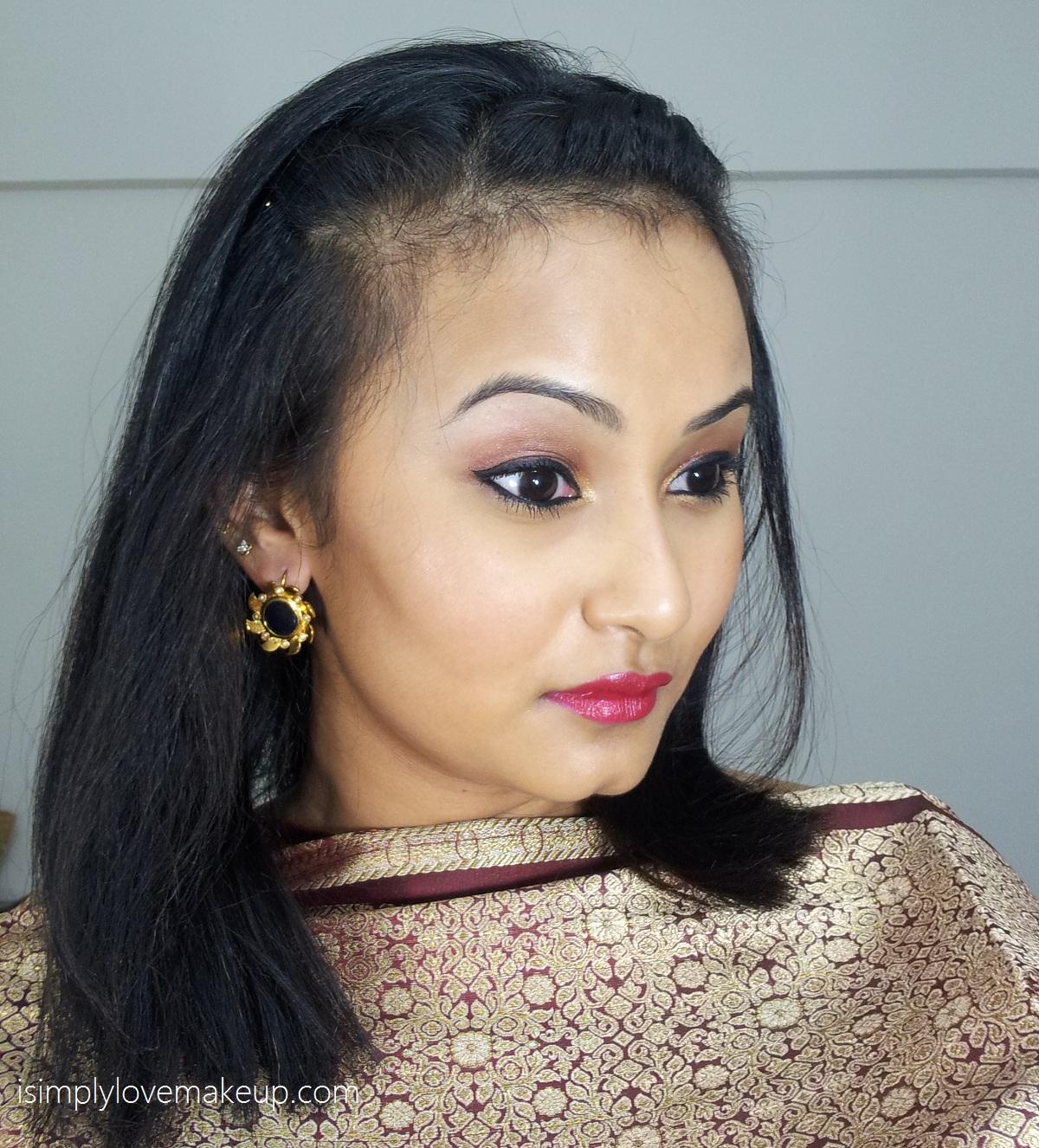 Lakme 9to5 Eye Color Quartet Tanjore Rush Makeup
