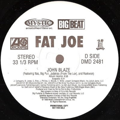 Fat Joe – John Blaze (VLS) (1998) (320 kbps)