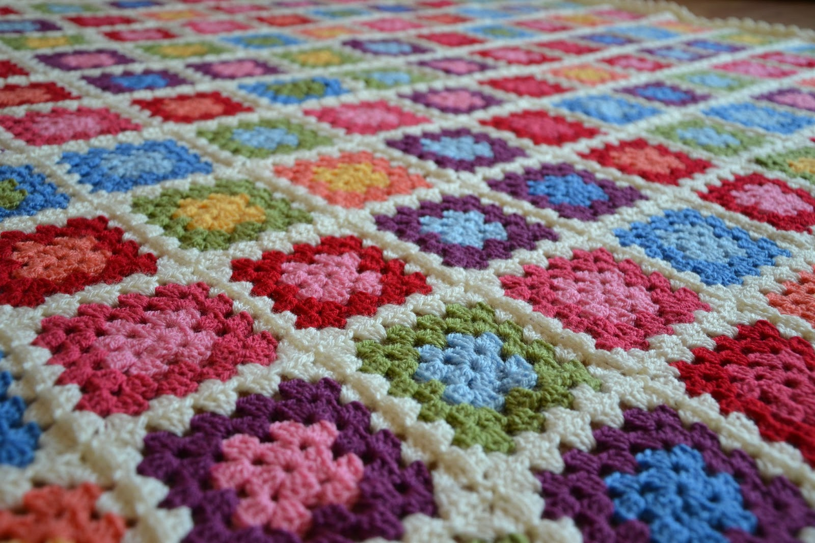 Crocheting Granny Square Blanket : Tadpegs: Crochet Granny Squares Soduku Blanket