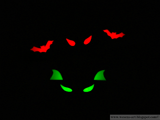 spooky paper rolls 08     wesens-art.blogspot.com
