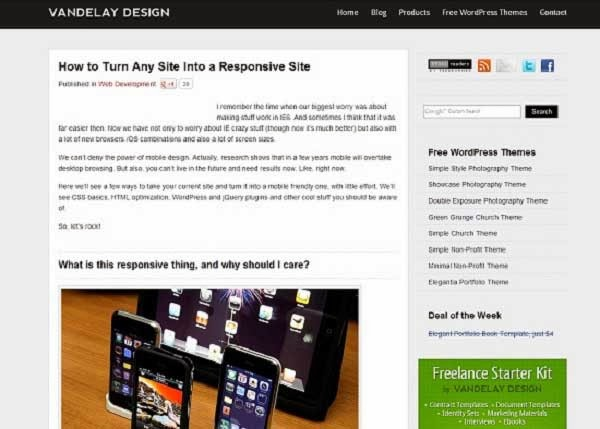 How to Turn Any Site Into a Responsive Site