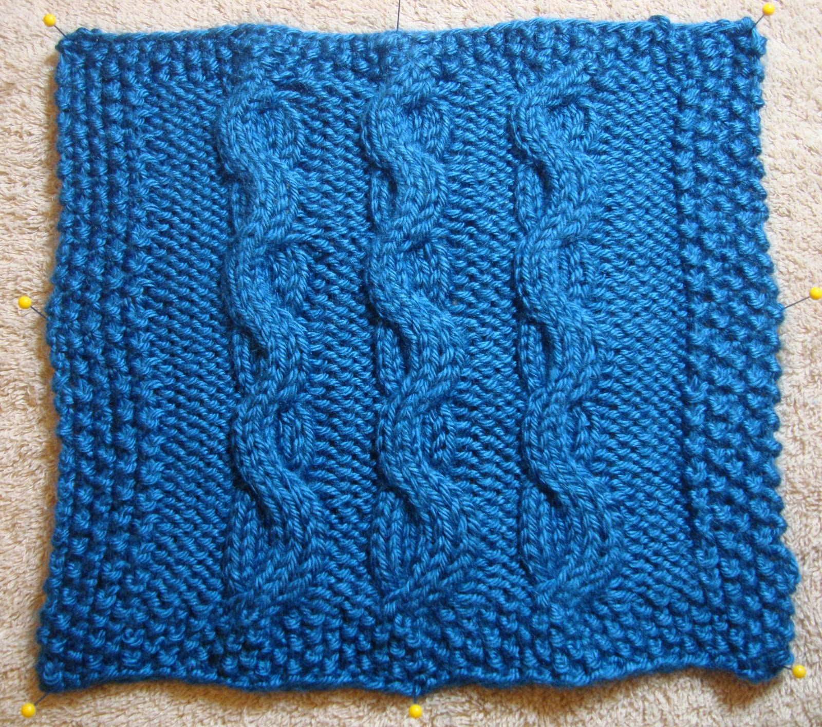 Knit Slip Stitch Left Handed : A Year of Swatches: October