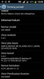 Custom Rom Galaxy S5 Evercoss A7R