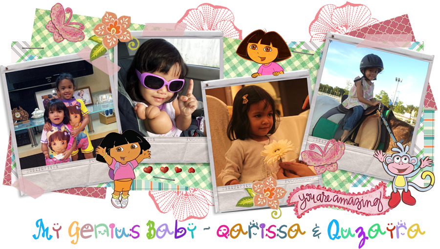 My Genius Baby - Qarissa &amp; Quzayra