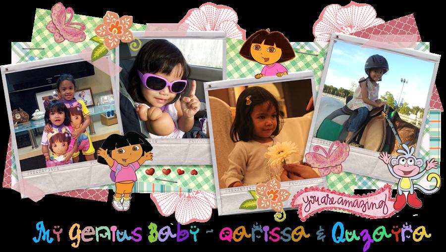 My Genius Baby - Qarissa & Quzayra