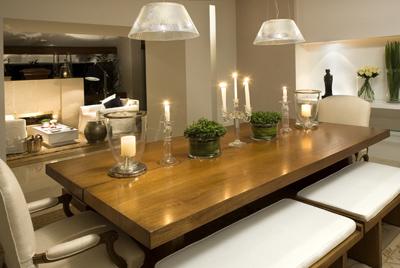 Mesas de jantar modernas para sua sala for Mesas de tv modernas