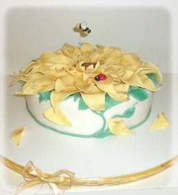 Torte Decorate Ed Idee Dolci Torta E Cake Pops Girasole
