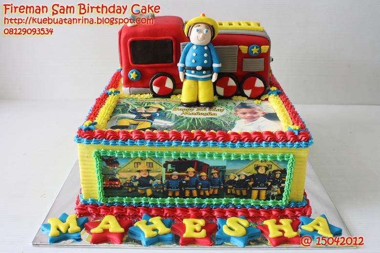 Masama Cakes Fireman Sam Birthday Cake For Mahesha