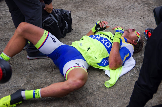 Peter Sagan exhausted Pedal Dancer Photography