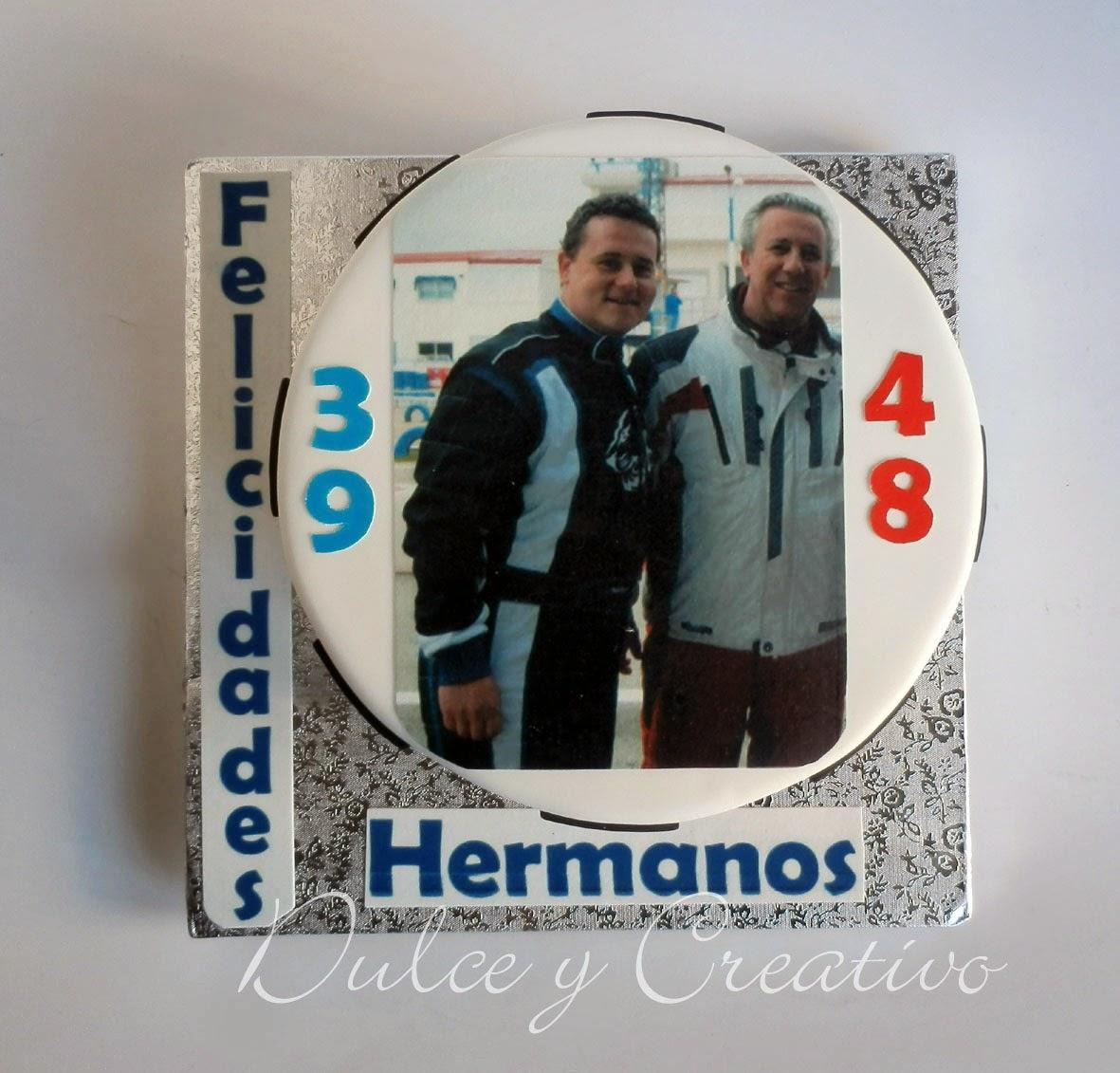 Tarta Jorge y Victor