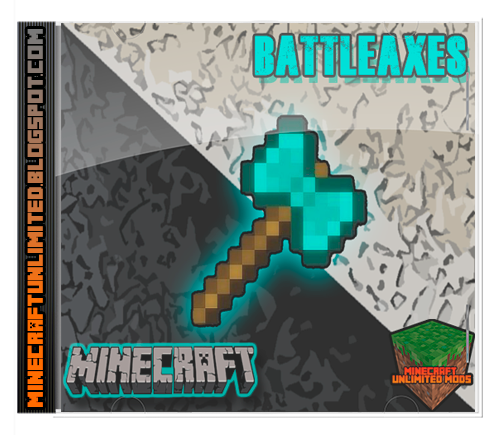 BattleAxes mod Minecraft