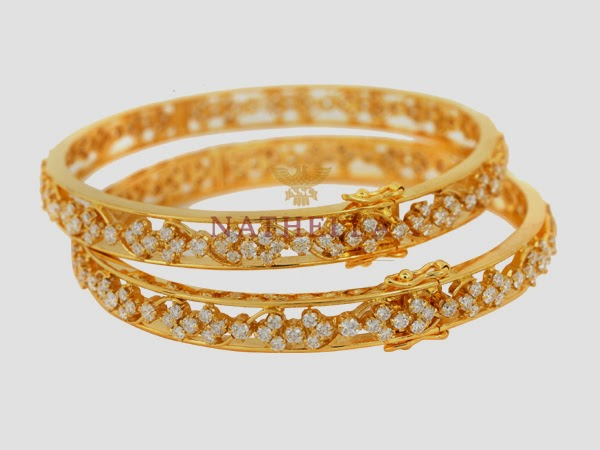 Nathella Diamond Bangle Designs