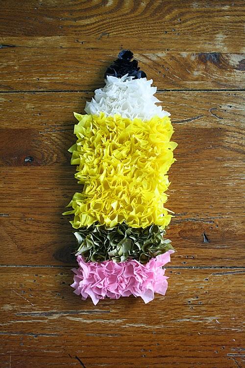 Puffy Tissue Paper Pencil   iLoveToCreate