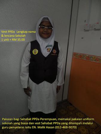 Contoh Pakaian Rasmi Sahabat PPDa Perempuan