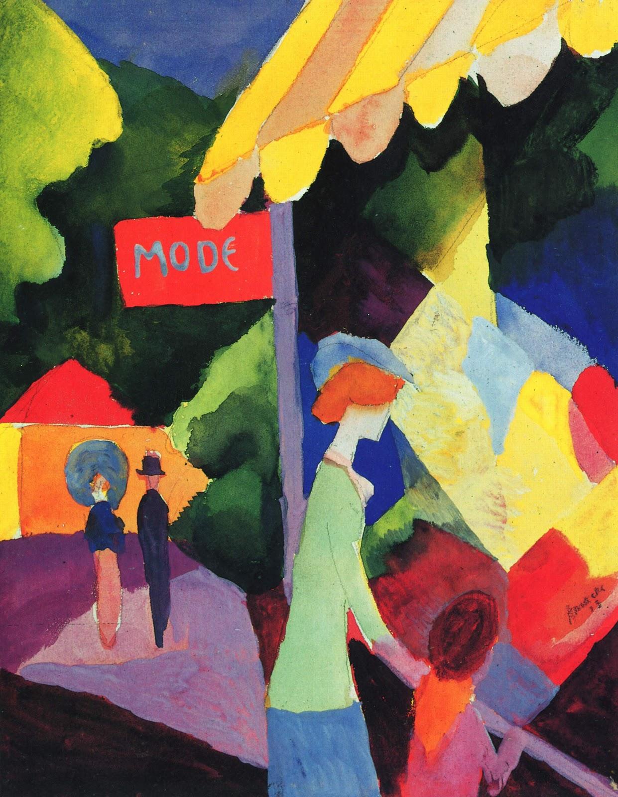 August Macke Oil Paintings
