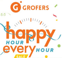 Grofers : Happy Hour Every Hour Sale for New Deals & Gifts Every Hour : Buytoearn