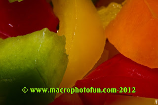 Macro photo food