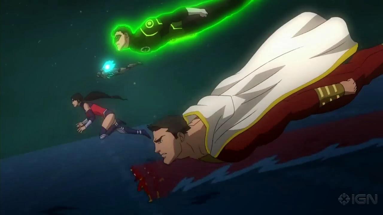 Superhéroes DC en Español: Primer Trailer de Liga de la Justicia Guerra
