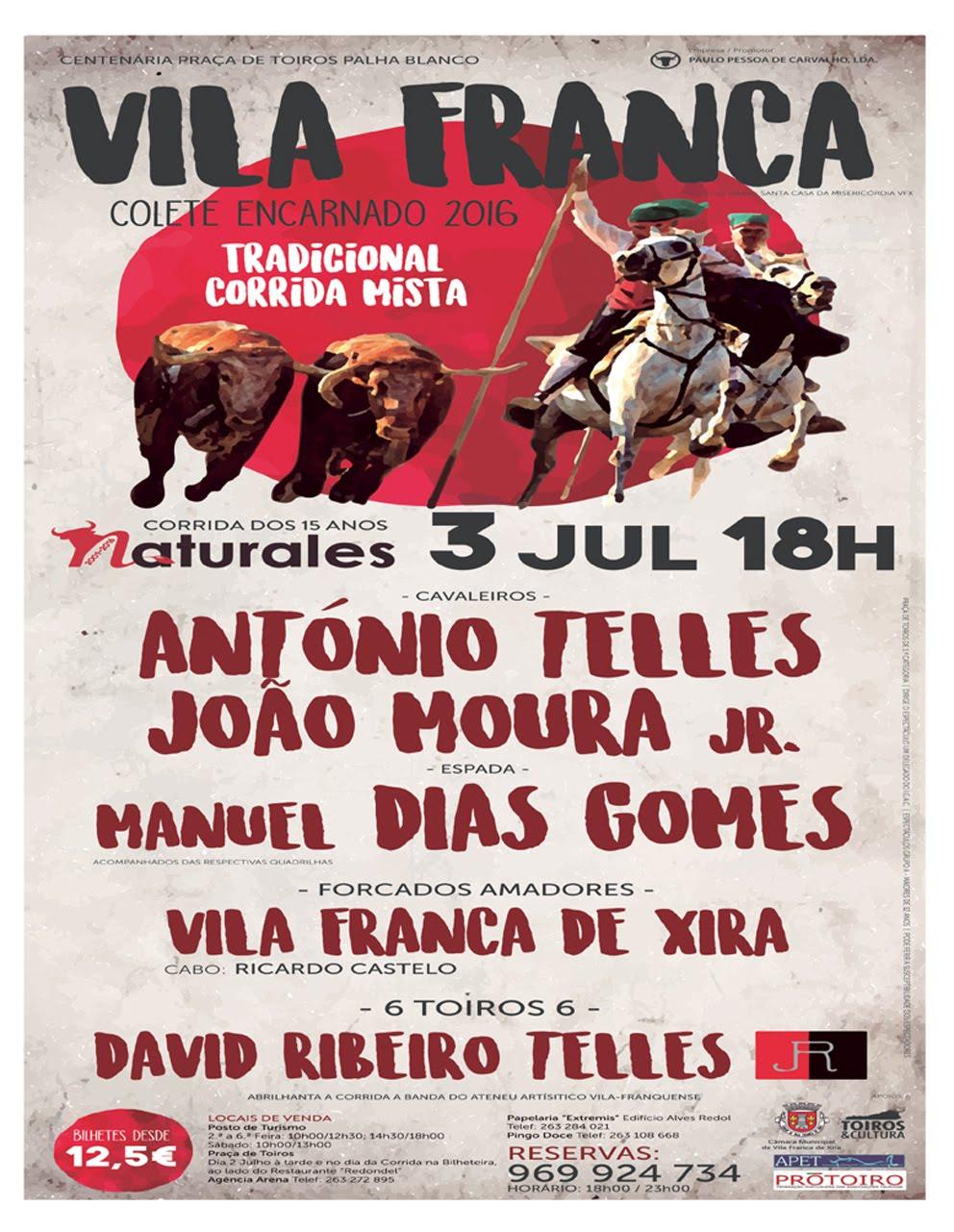 Vila Franca - 3 JUL . 18 H