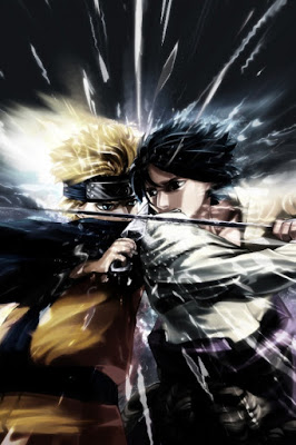 Hd Naruto vs Sasuke Mobile Wallpaper