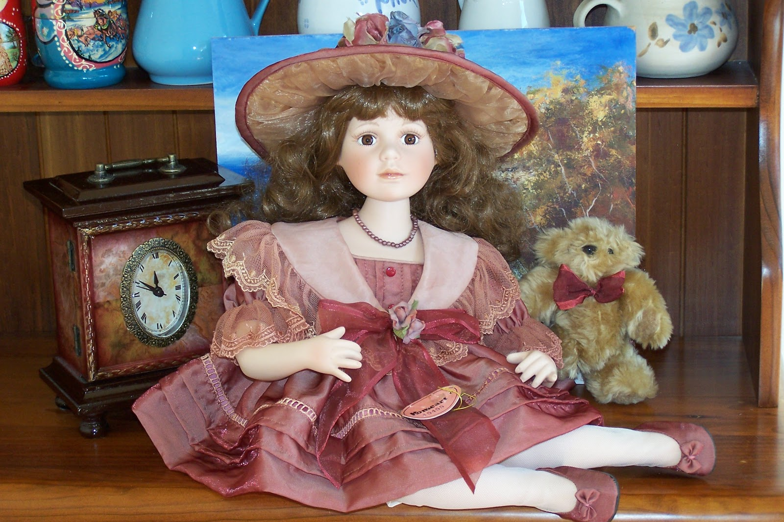 lizzie s arty crafty n dolls dolls rebecca a homeart store