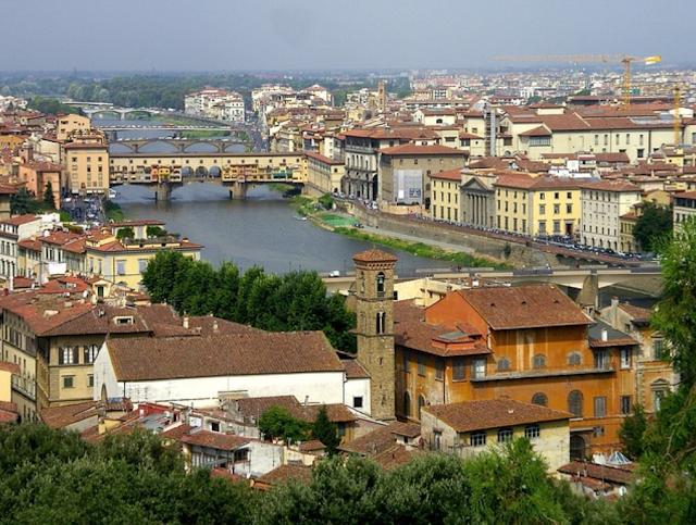 Florence Ponte Vecchia Tuscany Bridges Arno