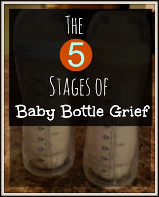 5 Stages of Grief - Goodbye Baby Bottles