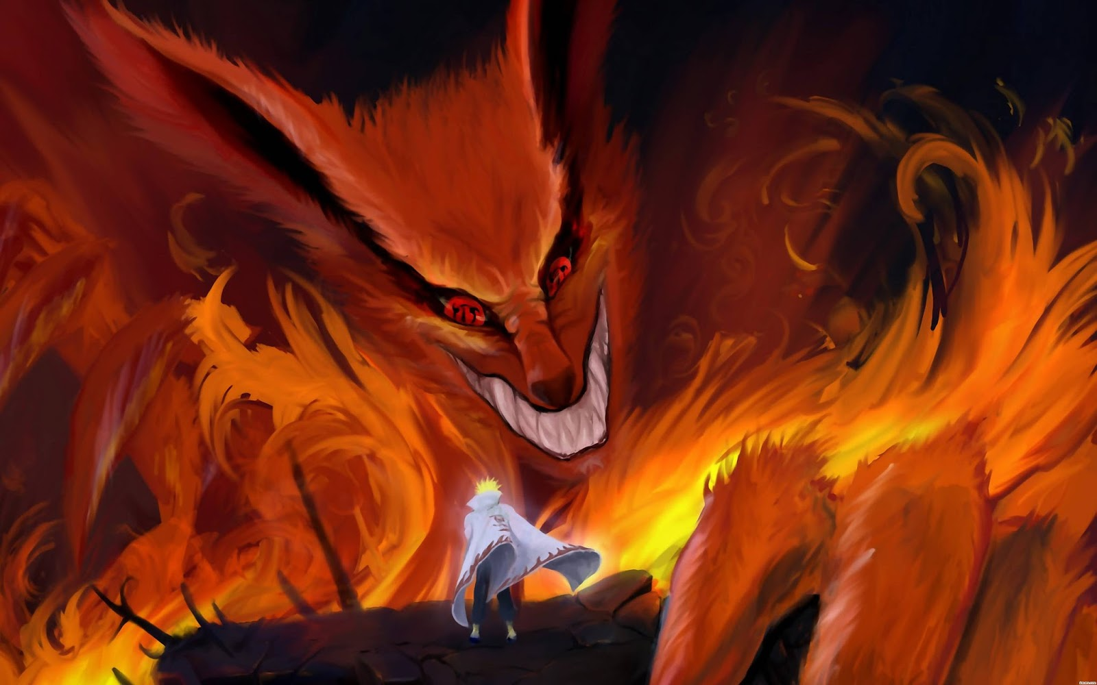 Gambar Naruto Kyubi Ekor 9
