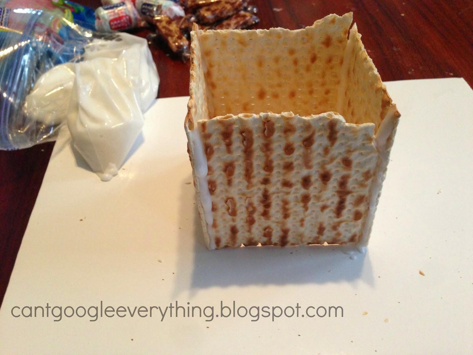 how to make matzo crackers