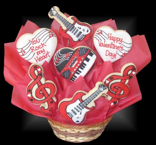 Cheap Valentine's Day Cookies Gifts Baskets