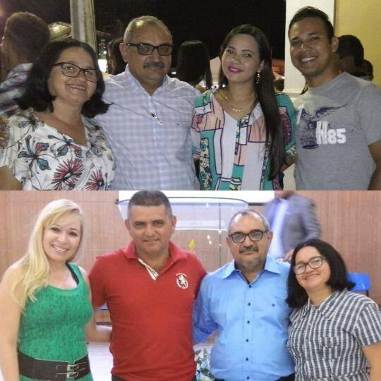 Minha Esposa Jânia, Irikele, Fabiano, Renata Cybelly e Eduardo.