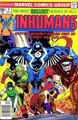 COMICS MARVEL Inhumanos