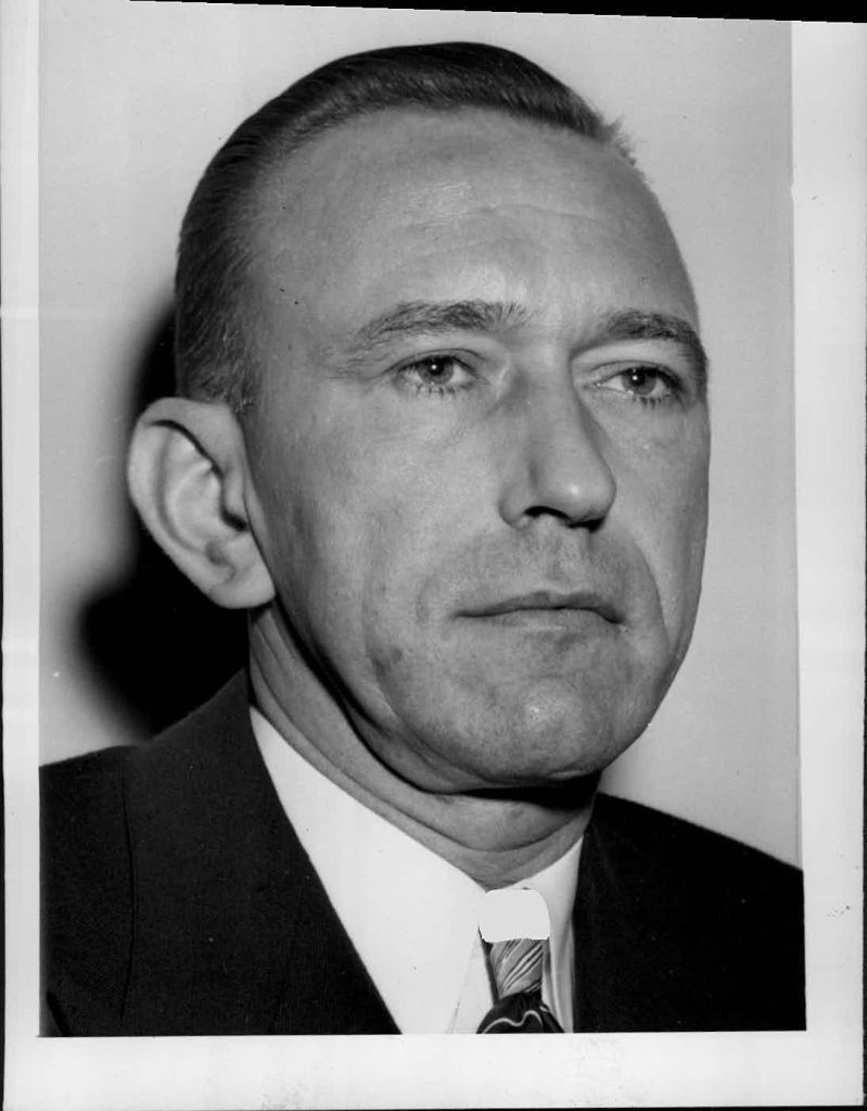 Secret Service Chief U.E. Baughman