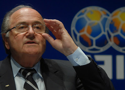 Blatter proposed time penalty for diving