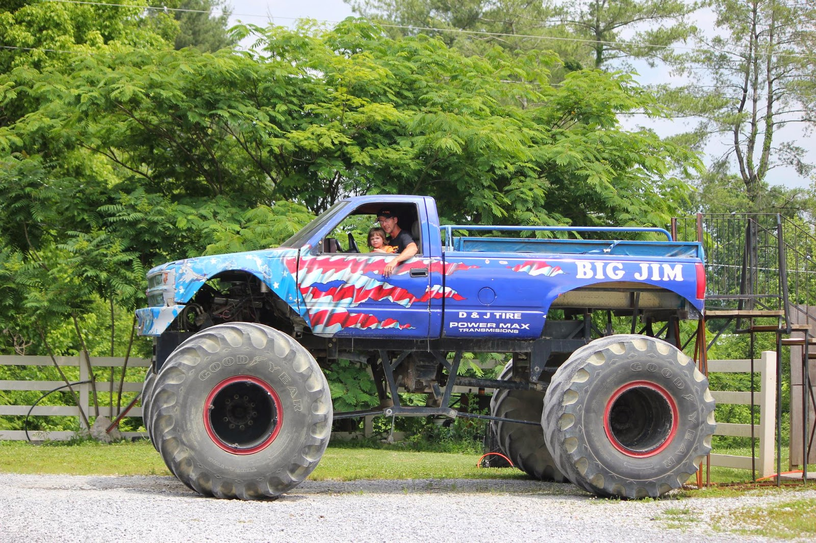 Monster Truck Rides at Outdoor Adventures Sevierville, TN