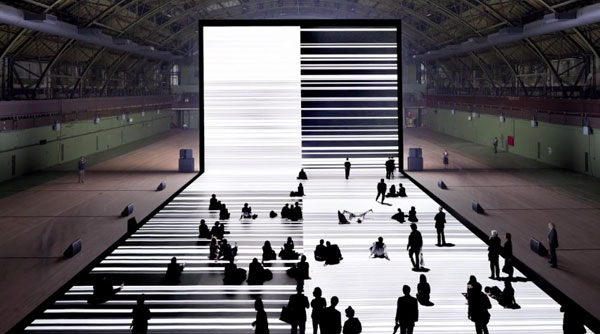 Ryoji Ikeda, Transfinite: A Film by Forma Arts and Media
