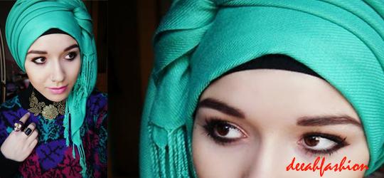 Trend Jilbab Modern Idul Fitri 2014