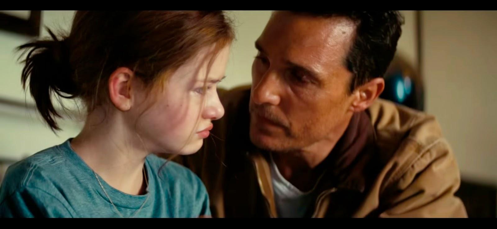 Padre e hija. La relación más importante de la película.